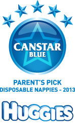 Parent's Pick Award: Disposable Nappies (2013)