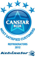 Most Satisfied Customers - Refrigerators 2012