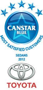 Most Satisfied Customers - Sedans 2012