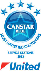Most Satisfied Customers - Service Stations, 2013