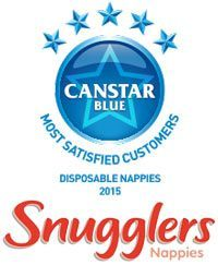 Snugglers awarded for nappies