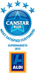 Most Satisfied Customers Award for Supermarkets - 2012