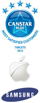 Most Satisfied Customers: Tablets, 2013