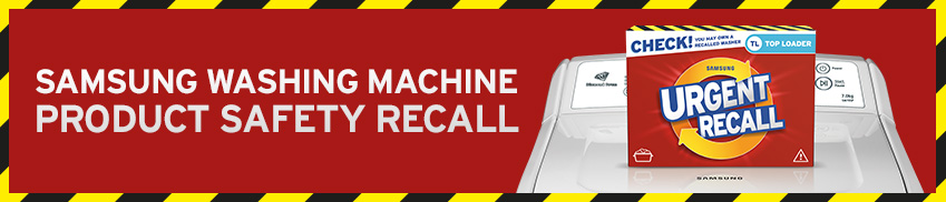 washing machine recall - samsung