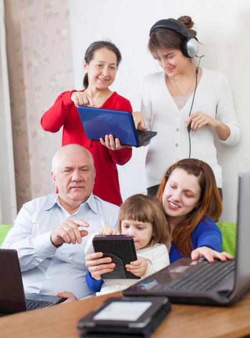 Three generation technology