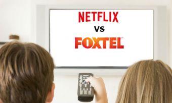watching netflix and foxtel