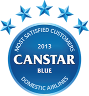 Domestic Airlines 2013 Award Logo