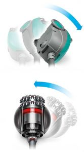 Ball vacuum working illustration