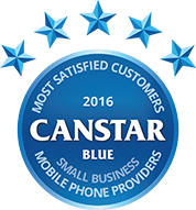 2016 Award for Small Business Mobile Phone Providers