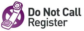 Do not call register logo