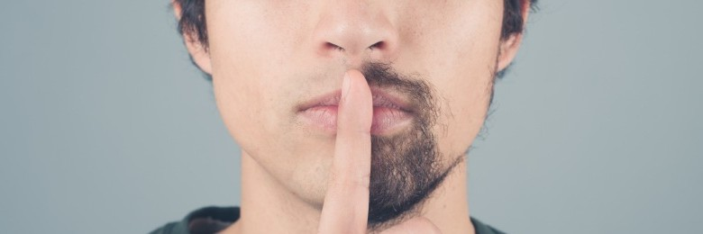 Men Shaving trend banner