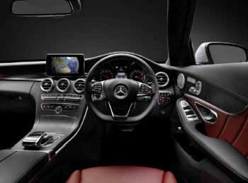 Mercedes Benz touchpad