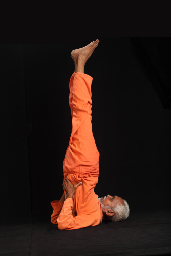 Traditional Indian yoga