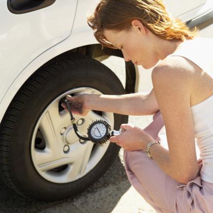Check tyre pressure