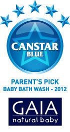 Parents Pick Award - Baby Bath Wash - 2012