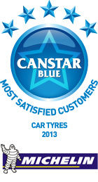 Most Satisfied Customers: Car Tyres 2013