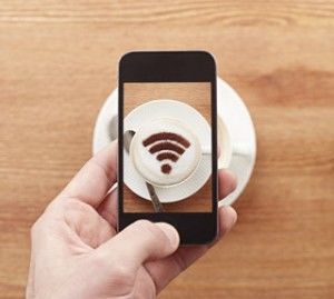 Wifi coffee phone