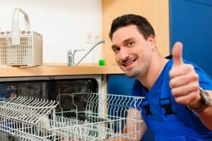 happy dishwasher