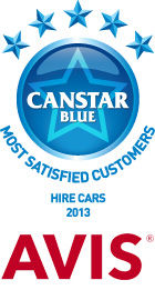 Most Satisfied Customers - Hire Cars, 2013
