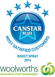 Woolworths: Insect Spray Award Winners