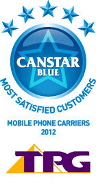 Most Satisfied Customers Award for Mobile Phone Carriers - 2012
