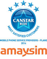 amaysim: 2014 award winner for phone plan providers