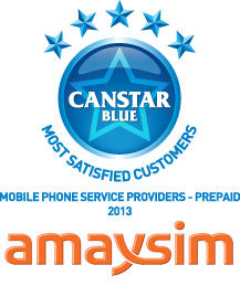 Most Satisfied Customers Award for Mobile Phone Prepaid Providers - 2013
