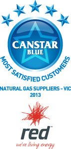 Most Satisfied Customers for Victorian Natural Gas Suppliers: 2013