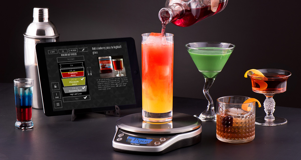 Perfect drink scale wins innovation excellence award for Perfect drink bluetooth scale