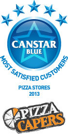 Most Satisfied Customers - Pizza Stores, 2013
