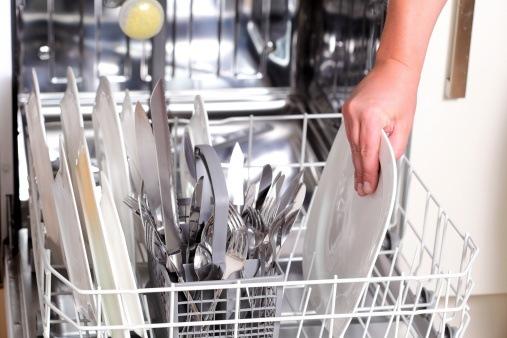 stacking dishwasher