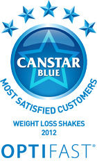 Most Satisfied Customers Award for Weight Loss Shakes - 2012