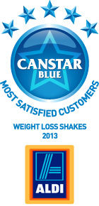 Most Satisfied Customers Award for Weight Loss Shakes - 2013
